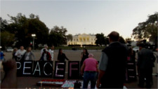 Code Pink protests US fight for Saudis in Yemen, gets park and street closures