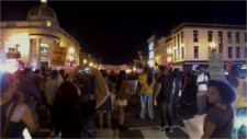 Shutting down Georgetown after long march from U st