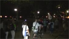 Police close Penn Ave in face of Nagasaki vigil