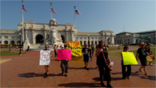 Marching on Congress against the TPP-and lame duck ratification plans