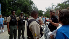 Cops at zoo threaten arrest after protesters compare zoo to prison over bullhorn