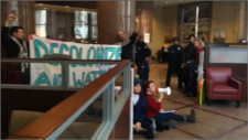 NoDAPL Lockdown closes Wells  Fargo in Baltimore