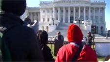 Congressman Grijalva speaks at NoDAPL event