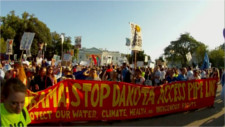 #NoDAPL protest at the White House Sep 13