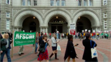Picketing Trump hotel over labor abuses